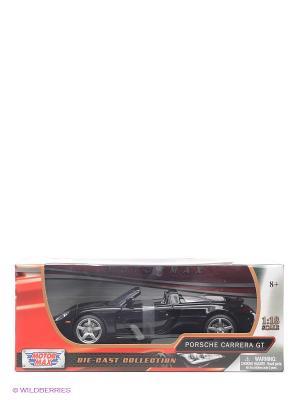 Машинка коллекционная 2004 Porsche Carrera GT Motormax. Цвет: черный