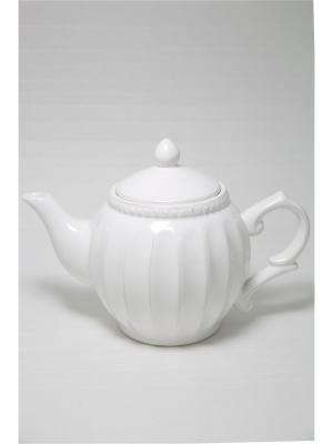 Чайник заварочный Mitya Veselkov. Цвет: белый