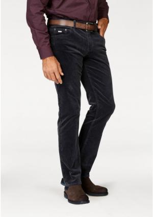 Вельветовые брюки Arizona. Цвет: темно-серый