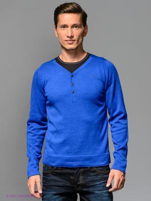 Пуловер G-STAR RAW. Цвет: синий