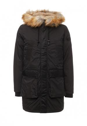 Куртка утепленная Diesel. Цвет: черный