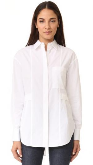 Непринужденная рубашка Grey Jason Wu. Цвет: оптический белый