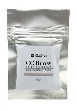 Хна для бровей CC Brow. Цвет: бежевый