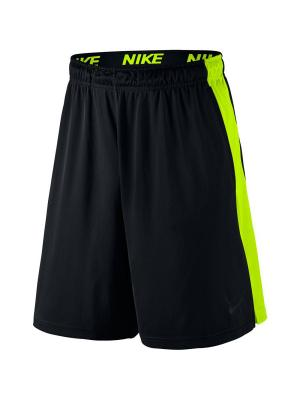 Шорты FLY 9 SHORT Nike. Цвет: черный, желтый