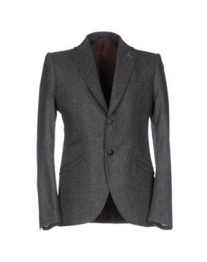 Пиджак MAURIZIO MIRI. Цвет: свинцово-серый
