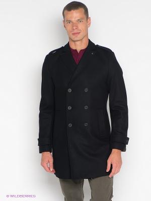 Пальто Forecast. Цвет: черный