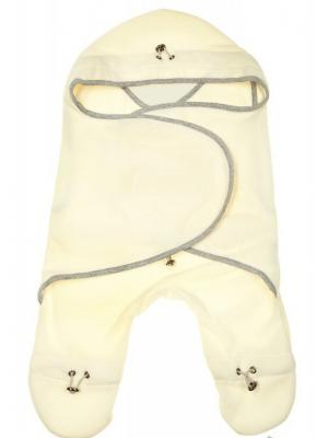 Комбинезон-конверт Молочный Mum`s Era. Цвет: серый, молочный