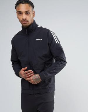 Adidas Originals Черная спортивная куртка BK5923. Цвет: черный