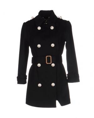 Легкое пальто TENAX. Цвет: черный