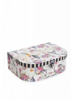 Подарочная коробка DAVANA. Цвет: черный, белый, розовый