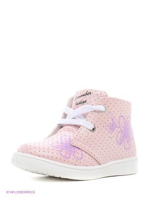 Ботинки Indigo kids. Цвет: розовый