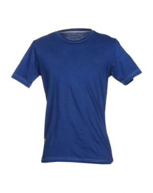 Футболка PAGANO. Цвет: синий