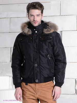Куртка RETIEF. Цвет: черный