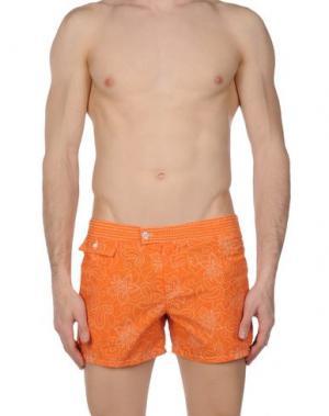 Шорты для плавания MOSAIQUE. Цвет: оранжевый