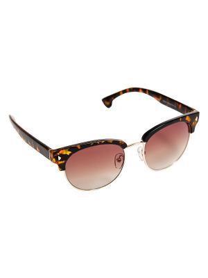 Солнцезащитные очки Kameo-bis. Цвет: коричневый, золотистый, желтый