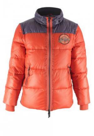 Куртка ARMANI JEANS. Цвет: оранжевый