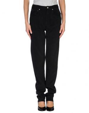 Джинсовые брюки KOOKAI. Цвет: черный