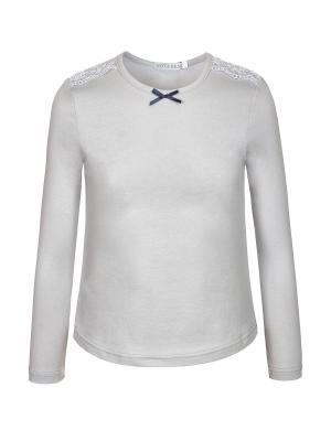 Блузка Nota Bene. Цвет: серый