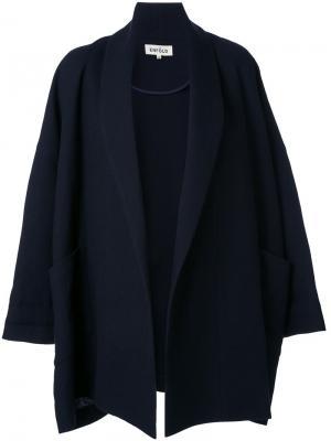 Объемная куртка с широкими рукавами Enföld. Цвет: чёрный