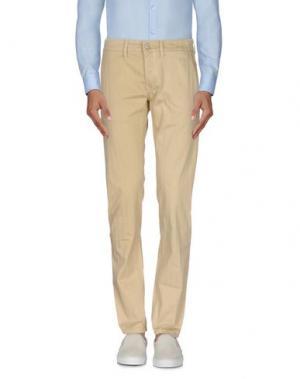 Повседневные брюки SIVIGLIA. Цвет: песочный