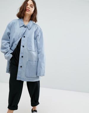 Weekday Куртка Sycamore. Цвет: синий