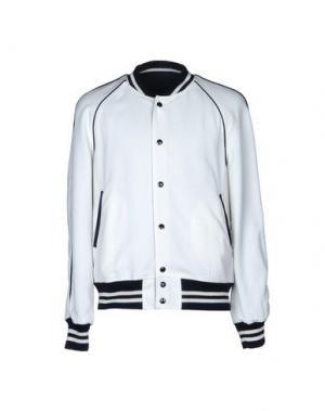 Куртка SANDRO. Цвет: белый