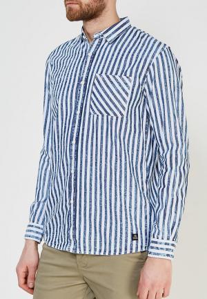 Рубашка Tom Tailor Denim. Цвет: синий