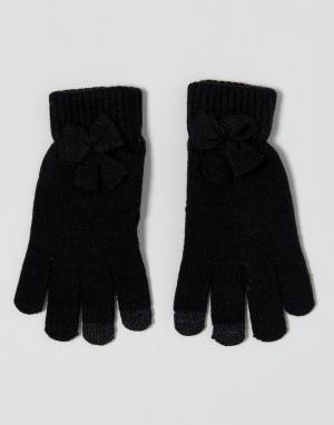 7X Перчатки для сенсорного экрана. Цвет: черный