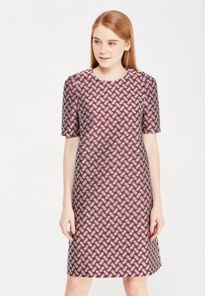 Платье IMAGO. Цвет: бордовый