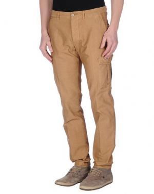 Повседневные брюки JEY COLE MAN. Цвет: верблюжий