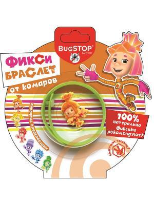 Bugstop Браслет от комаров Фиксибраслет 1 шт.. Цвет: салатовый