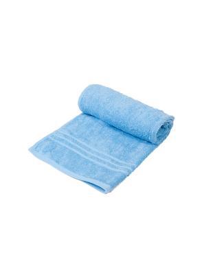 Полотенце махровое ARLONI. Цвет: голубой