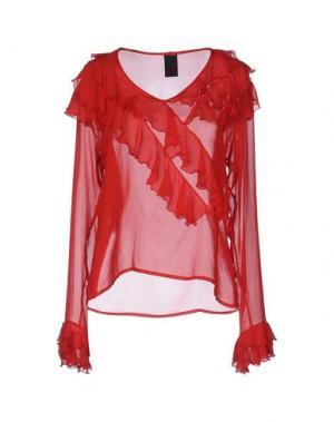 Блузка SHI 4. Цвет: красный
