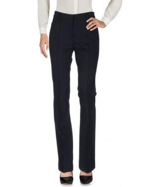 Повседневные брюки LUISA CERANO. Цвет: темно-синий