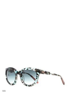 Солнцезащитные очки MI 789S 03 Missoni. Цвет: синий