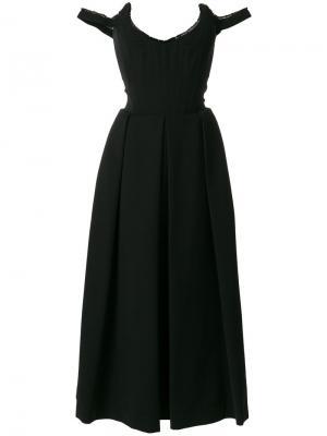 Платье Delia Preen By Thornton Bregazzi. Цвет: чёрный