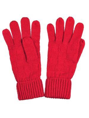 Перчатки Модные истории. Цвет: красный