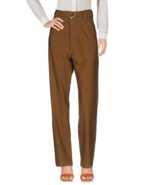 Повседневные брюки SOEUR. Цвет: хаки
