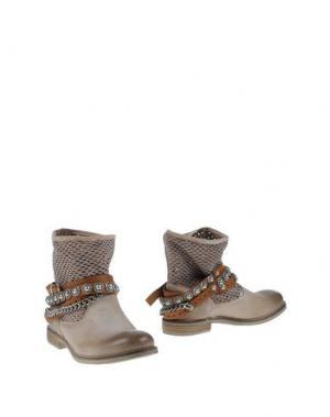 Полусапоги и высокие ботинки OVYE' by CRISTINA LUCCHI. Цвет: голубиный серый