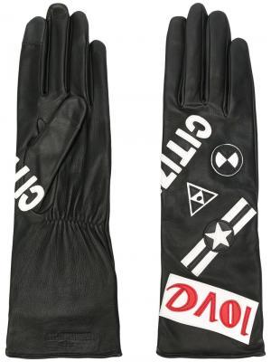 Перчатки Keneda Agnelle. Цвет: чёрный