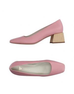 Туфли FARRUTX. Цвет: розовый