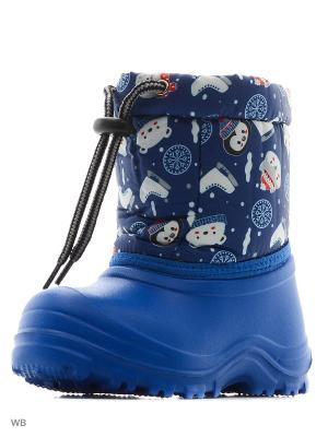 Сноубутсы Детский скороход. Цвет: голубой