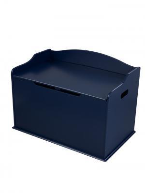 Ящик для хранения Austin Toy Box - Blueberry (т. Синий) KidKraft. Цвет: темно-синий