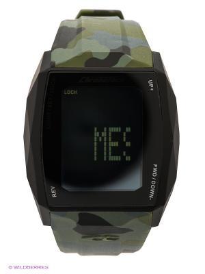 Часы Chronotech. Цвет: хаки