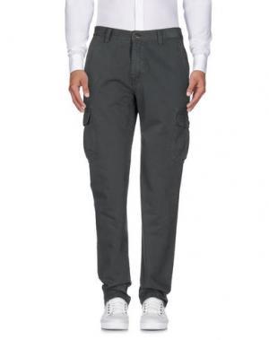 Повседневные брюки CARRERA. Цвет: зеленый-милитари