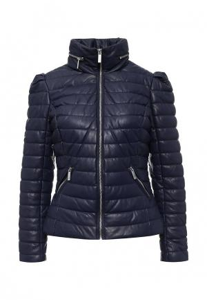 Куртка утепленная Morgan. Цвет: синий