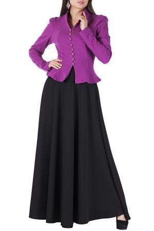 Комплект с юбкой Mannon. Цвет: розовый
