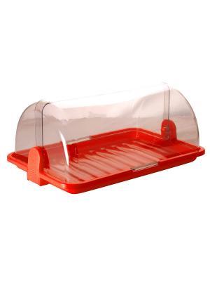Хлебница средняя Plastic Centre. Цвет: красный