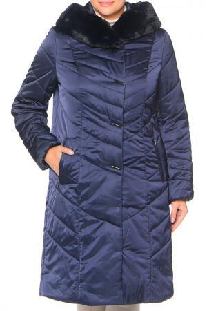 Пальто MONTSERRAT. Цвет: темно-синий