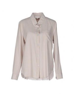 Pубашка INTROPIA. Цвет: светло-серый